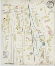Bethel, VT Fire Insurance 1894 Sheet 1 - Old Town Map Reprint