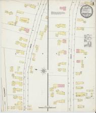 Bradford, VT Fire Insurance 1892 Sheet 1 - Old Town Map Reprint