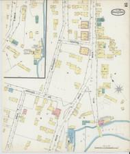Bradford, VT Fire Insurance 1892 Sheet 2 - Old Town Map Reprint