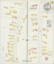 Bradford, VT Fire Insurance 1898 Sheet 1 - Old Town Map Reprint