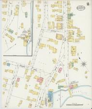 Bradford, VT Fire Insurance 1898 Sheet 2 - Old Town Map Reprint