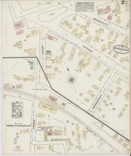 Brandon, VT Fire Insurance 1885 Sheet 2 - Old Town Map Reprint