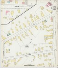 Brandon, VT Fire Insurance 1892 Sheet 3 - Old Town Map Reprint