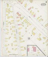 Brandon, VT Fire Insurance 1892 Sheet 4 - Old Town Map Reprint