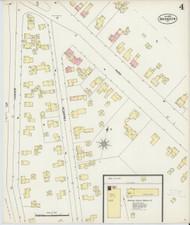 Brandon, VT Fire Insurance 1897 Sheet 4 - Old Town Map Reprint