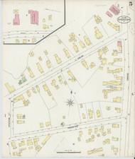 Brandon, VT Fire Insurance 1897 Sheet 5 - Old Town Map Reprint