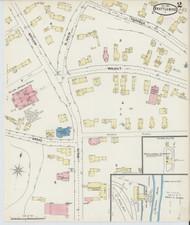 Brattleboro, VT Fire Insurance 1891 Sheet 2 - Old Town Map Reprint