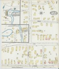 Brattleboro, VT Fire Insurance 1891 Sheet 7 - Old Town Map Reprint