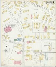 Brattleboro, VT Fire Insurance 1896 Sheet 2 - Old Town Map Reprint