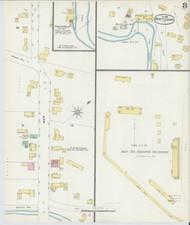 Brattleboro, VT Fire Insurance 1896 Sheet 8 - Old Town Map Reprint