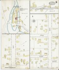 Bristol, VT Fire Insurance 1895 Sheet 2 - Old Town Map Reprint