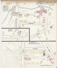 Burlington, VT Fire Insurance 1885 Sheet 2 - Old Town Map Reprint
