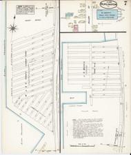 Burlington, VT Fire Insurance 1885 Sheet 7 - Old Town Map Reprint