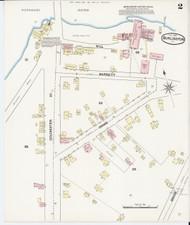 Burlington, VT Fire Insurance 1889 Sheet 2 - Old Town Map Reprint