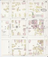 Burlington, VT Fire Insurance 1889 Sheet 5 - Old Town Map Reprint