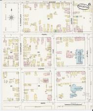 Burlington, VT Fire Insurance 1889 Sheet 6 - Old Town Map Reprint