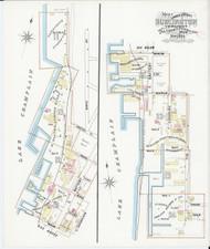Burlington, VT Fire Insurance 1894 Sheet 2 - Old Town Map Reprint