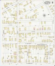 Burlington, VT Fire Insurance 1894 Sheet 3 - Old Town Map Reprint