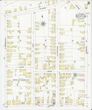Burlington, VT Fire Insurance 1894 Sheet 4 - Old Town Map Reprint