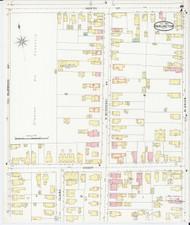 Burlington, VT Fire Insurance 1894 Sheet 8 - Old Town Map Reprint