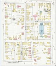 Burlington, VT Fire Insurance 1894 Sheet 9 - Old Town Map Reprint