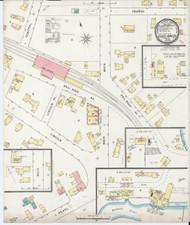 Essex Junction, VT Fire Insurance 1894 Sheet 1 - Old Town Map Reprint