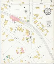 Essex Junction, VT Fire Insurance 1899 Sheet 1 - Old Town Map Reprint