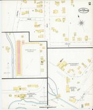 Essex Junction, VT Fire Insurance 1899 Sheet 2 - Old Town Map Reprint