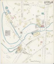 Fair Haven, VT Fire Insurance 1885 Sheet 2 - Old Town Map Reprint