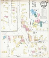 Fair Haven, VT Fire Insurance 1892 Sheet 1 - Old Town Map Reprint