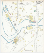 Fair Haven, VT Fire Insurance 1892 Sheet 2 - Old Town Map Reprint