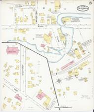 Fair Haven, VT Fire Insurance 1892 Sheet 3 - Old Town Map Reprint