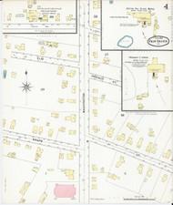Fair Haven, VT Fire Insurance 1892 Sheet 4 - Old Town Map Reprint