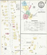 Fair Haven, VT Fire Insurance 1897 Sheet 1 - Old Town Map Reprint
