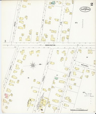 Fair Haven, VT Fire Insurance 1897 Sheet 2 - Old Town Map Reprint