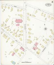 Fair Haven, VT Fire Insurance 1897 Sheet 3 - Old Town Map Reprint