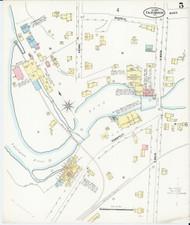 Fair Haven, VT Fire Insurance 1897 Sheet 5 - Old Town Map Reprint