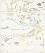 Fair Haven, VT Fire Insurance 1897 Sheet 6 - Old Town Map Reprint