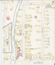 Ludlow, VT Fire Insurance 1894 Sheet 2 - Old Town Map Reprint