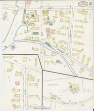 Ludlow, VT Fire Insurance 1894 Sheet 3 - Old Town Map Reprint