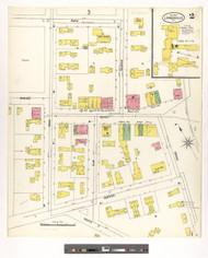Lyndonville, VT Fire Insurance 1900 Sheet 2 - Old Town Map Reprint