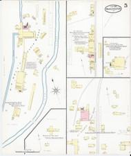 Manchester, VT Fire Insurance 1892 Sheet 5 - Old Town Map Reprint