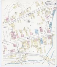 Montpelier, VT Fire Insurance 1889 Sheet 2 - Old Town Map Reprint
