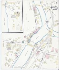 Montpelier, VT Fire Insurance 1889 Sheet 4 - Old Town Map Reprint