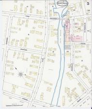 Montpelier, VT Fire Insurance 1889 Sheet 5 - Old Town Map Reprint