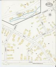 Montpelier, VT Fire Insurance 1889 Sheet 7 - Old Town Map Reprint