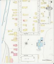 Montpelier, VT Fire Insurance 1894 Sheet 2 - Old Town Map Reprint