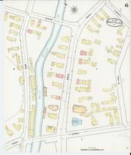 Montpelier, VT Fire Insurance 1894 Sheet 6 - Old Town Map Reprint