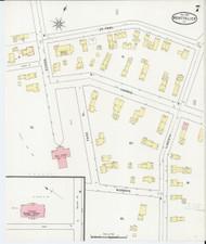 Montpelier, VT Fire Insurance 1894 Sheet 7 - Old Town Map Reprint