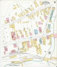 Montpelier, VT Fire Insurance 1899 Sheet 3 - Old Town Map Reprint